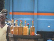 Scène de vie à Lomé capitale du Togo