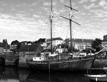 Le port et le pont d'Auray.....