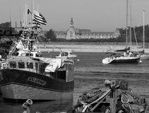 Dans le port du Croisic
