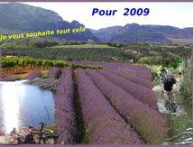 Nouvelle année, nouvelles randos , nouveau VTT : souhaits pour 2009