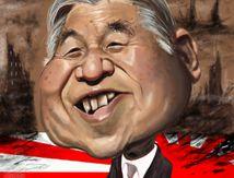 Akihito l'Empereur du Japon.