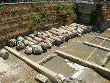 Nouvelles fouilles  à Rome