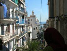 Les escaliers d'Alger