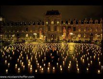 Mille bougies pour mille mercis