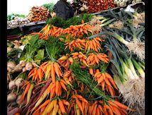 La vendeuse de fruits et légumes