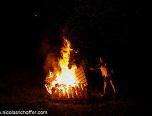 Le feu d'Etang