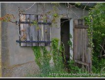 Auzat sur Allier - la vieille cabane de jardin désaffectée ...