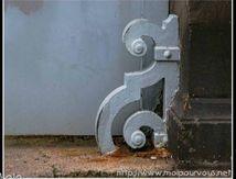 Butée de portail ...