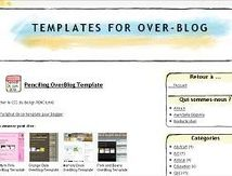 Penciling Overblog template