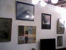 Un tableau à moi au mur d'un ami. MERCI MARCEL