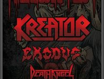 KREATOR on tour in Europe !
