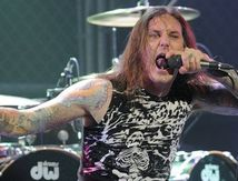 AS I LAY DYING singer arrested for wife murder plot !!!