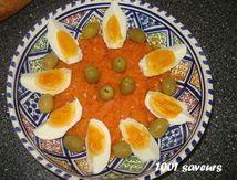 Ommek Houria - Salade de carottes épicée