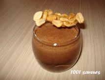 Mousse craquante au Nutella et bâtons de cacahuètes de Philippe Conticini