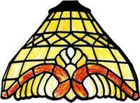 Modèle de lampe Tiffany - Cloche 18 cm