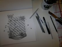 Zentangle® > Mise en pratique