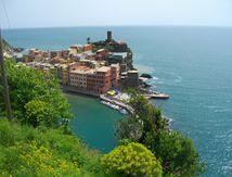 Le hameau de Vernazza (les Cinque Terre) sur la riviéra italienne