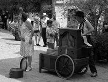 Chanteuse de rue