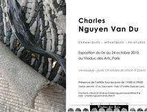 Exposition de Charles N'Guyen Van Du, Paris