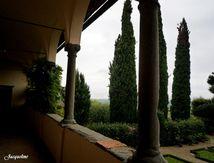 Il pleut sur la Toscane