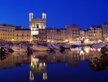 Bastia by night