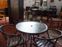 TABLE RONDE METAL(VENDUE)