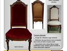 """Chaise """"Royale""""; Du Siège au Décor: Tapissier d'Ameublement"""