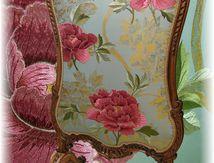 Pare-Feu style Louis XV; Du Siège Au Décor; Tapissier d'Ameublement