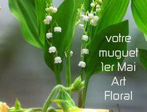 Fête du muguet 1er mai chez Rolande aux halles de Narbonne