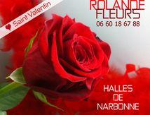Des fleurs bouquets et roses St Valentin