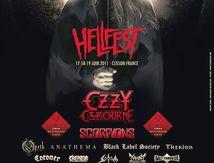 1st HELLFEST 2011 Poster