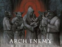 """New ARCH ENEMY Artwork for """"War Eternal"""" out on Century Media records"""