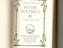 Oeuvre Poétique Arthur RIMBAUD; Edition 1976 chez Jean de Bonnot