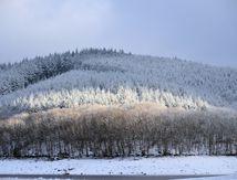 Week end à Lormes, le Morvan, la Nièvre et leurs paysages sous la neige.