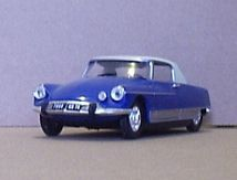 DS coupé Le Dandy 1967