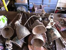 Lot de lampe SANFIL design industriel
