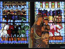 Vierge à l'enfant – Cathédrale de Clermont-Ferrand