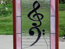 bass and treble clef