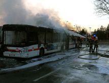 Vénissieux : un bus TCL en flamme, pas de victimes