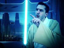 LUCIANO ! STAR WARS LEARN TO BE A JEDI Un Buzz de + !