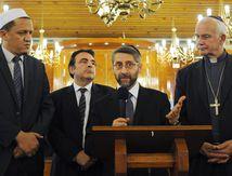 VIDEO. Juifs, musulmans et chrétiens rassemblés pour la paix à la...