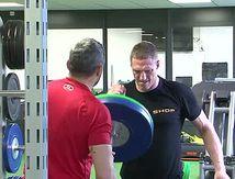 Préparation d'Anthony Réa pour son combat au boxe Boxe In Défi XVIII