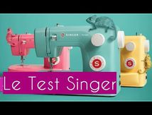Test Machine à Coudre Singer Simple 3223