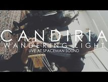 "Video live de Candiria ""Wandering Light"""