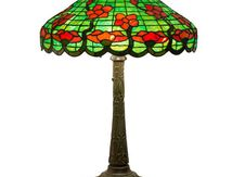 Leaded Glass Table L