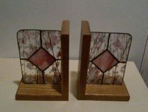 Pink Stained Glass B