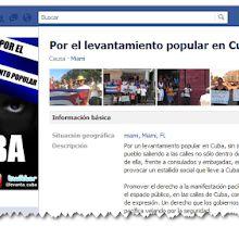 Creada otra página Facebook convocando a la violencia en Cuba