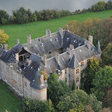 Chateau de Hombourg-Budange : de mal en pis