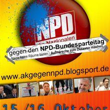 gegen den NPD-Bundesparteitag