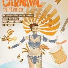bal carnaval do Brasil à la salle des fêtes samedi